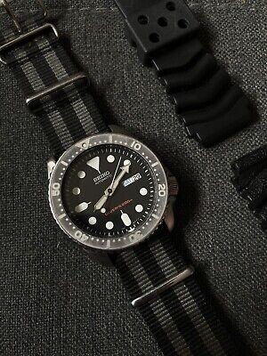 Seiko SKX007 - Men's Black Dive Watch (See Description)