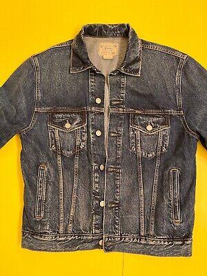vintage polo ralph lauren jean Jacket  Men Sz S Women Sz M  Good Condition