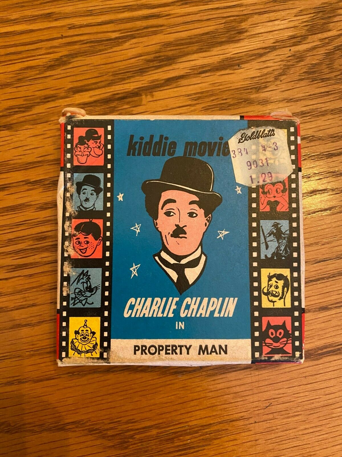 8MM Kiddie Movies - Charlie Chaplin In Property Man - CH 4 - $0.99