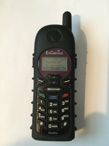 ENGENIUS DURAFON-SIP-HC DURAFON-SIP HANDSET AND CHARGER