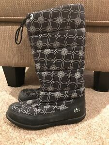 Lacoste winter boots - ladies size 6.5
