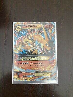 Mega Charizard EX 13/108 XY Evolutions Pokemon Card - great condition!