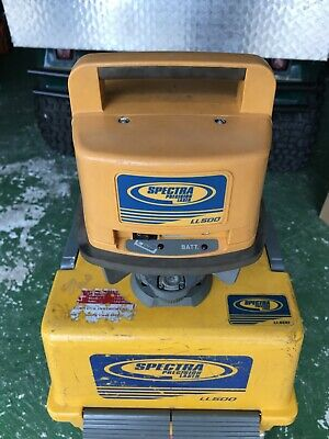 Trimble Spectra Precision Ll500 Rotary Laser Level Ll500 Working