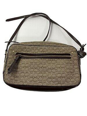 Coach F1380-25043 Crossbody Cloth Bag - Brown