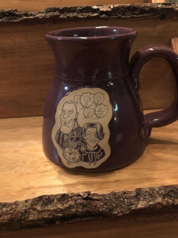 2019 Iron Bean Coffee Co Toon Mug Purple 145/150
