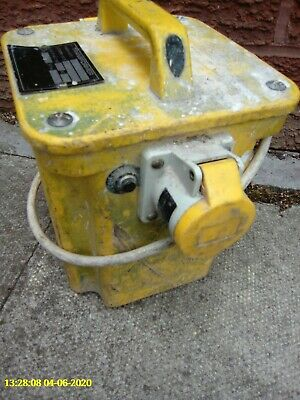 transformer 110v heavy duty 5kw twin outlet fullyworking hardlyused. candeliver