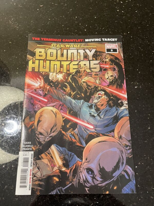 Star Wars Bounty Hunters 8 NM usps