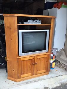 Corner TV Cabinet Galston Hornsby Area Preview