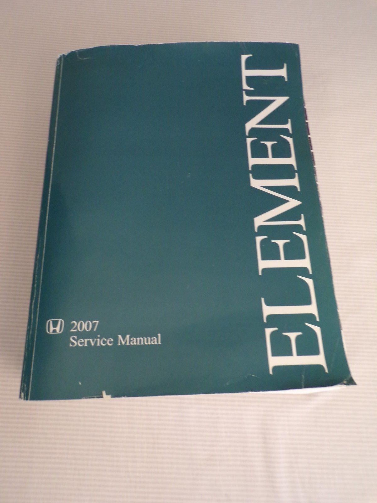 2007 honda element service manual paperback ebay rh ebay com Honda Element Parts Manual 2010 honda element service manual