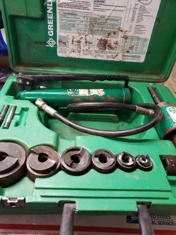 """GREENLEE 7306SB SLUG BUSTER 1/2-2"""" including hydraulic  #7301"""