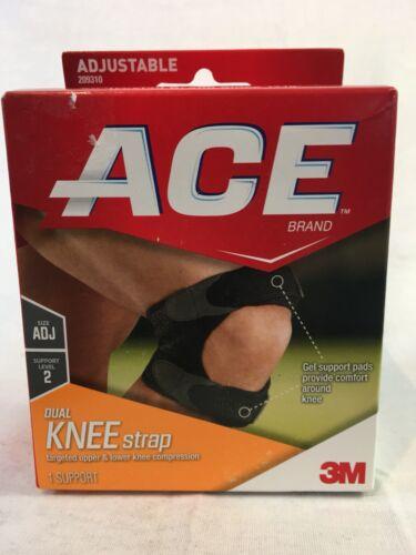 ACE DUAL KNEE STRAP ADJUSTABLE level 2 SUPPORT 209310 UPPER
