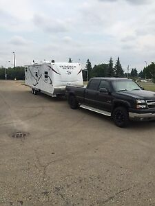 Truck and camper trailer combo