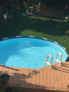 Intex Pool -48 inches high by 15 ft diam: **PRICE DROP**