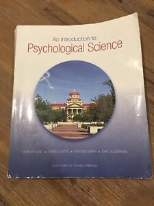 Intro to Psych textbook