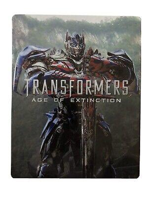 Transformers Age Of Extinction Blu-Ray Steelbook