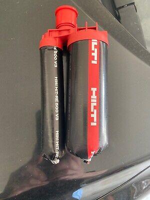 Hilti Hit-re 500 V3 Injectable Mortar Epoxy -16.9 Fl Oz