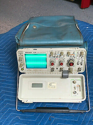 Tektronix 2336 Oscilloscope Two Channels 100mhz Working W Cover