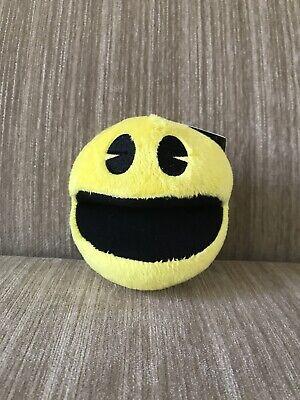 "5"" Toy Factory Pac-Man Battle Royale Pac-Man Plush BNWT! Soft!"