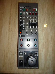 Sony RCP-3720 Remote Operation Video Camera Control Panel Mountable Joystick