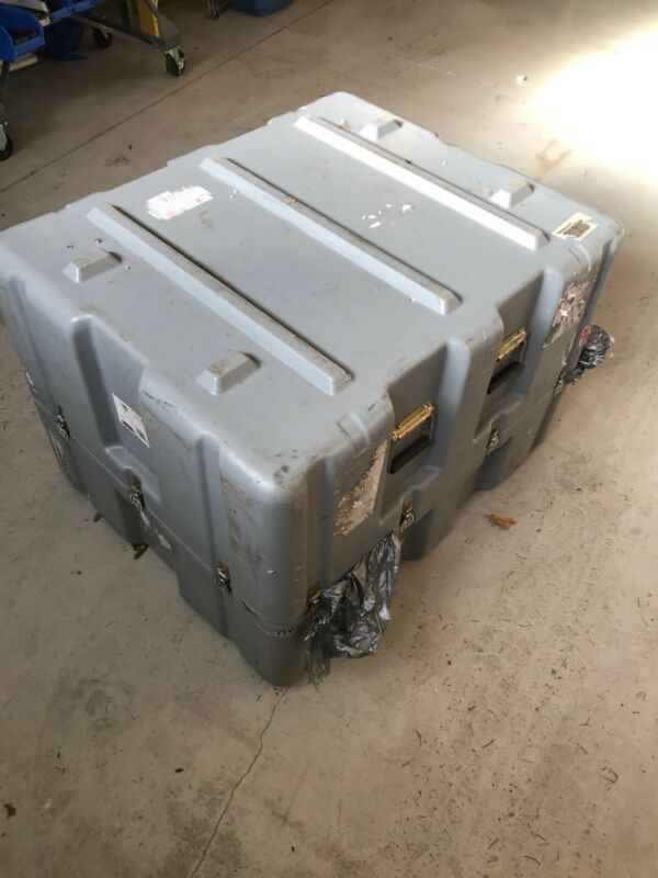 """pelican Hardigg Case Inside Dims Approx  34"""" 27"""" 25""""h"""
