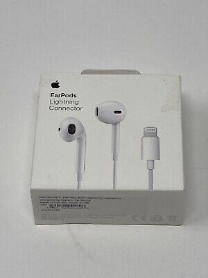 Original Apple Lightning EarPods Headphones for iPhone