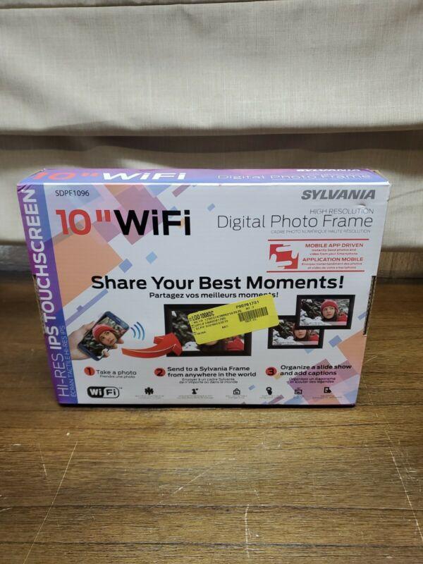 "Sylvania 10"" WIFI Digital Photo Frame Brand New Unopened"