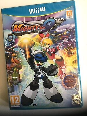 * NINTENDO Wii U New Sealed Game MIGHTY No.9 includes RAY Expansion +Book SPA PK