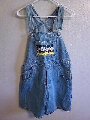 Vintage Overalls & Jumpsuits Vintage Disney Catalog Mickey Mouse denim overalls bib women's XL $45.00 AT vintagedancer.com