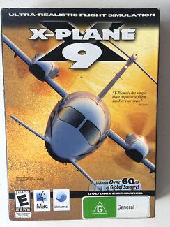 X-Plane 9 realistic flight simulator (Mac OSX)