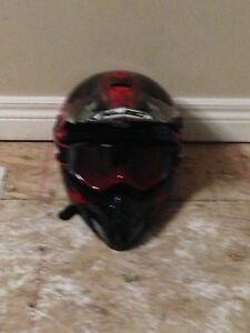 Lightly used dirt bike gear for young starters