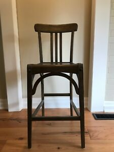 Restoration Hardware Counter Height Chairs - Set of 4