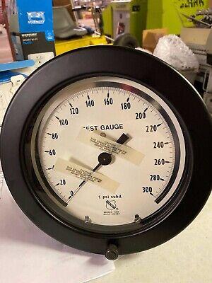 Ashcroft 6 Test Pressure Gauge 300 Psi