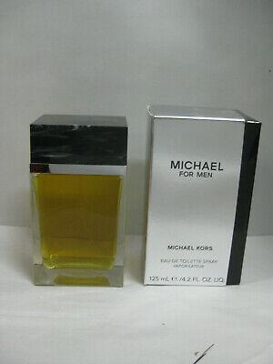 MICHAEL FOR MEN by MICHAEL KORS 4.2 oz 125 ml EDT SPRAY CLASSIC ORIGINAL (Michael For Men)