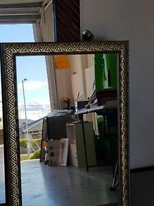 Metallic decorative frame mirror Palmerston Gungahlin Area Preview