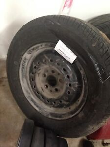 195/70 R14 Set of 4 Summer and Winter Tires/Rims