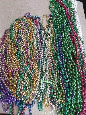 Mardi Gras Beads 11.8 lb Large Assortment, Different Colors, Shapes and Sizes!!!](Large Mardi Gras Beads)