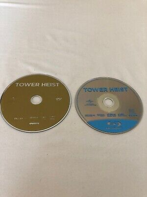 Tower Heist 2 Disc Set Blu-ray and DVD Disc's Only
