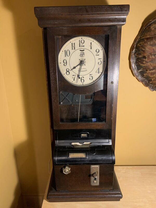International Time Recorder Co. Punch Clock