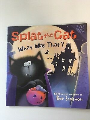 Halloween Splat the Cat What Was That Paperback Book](Splat The Cat Halloween Book)