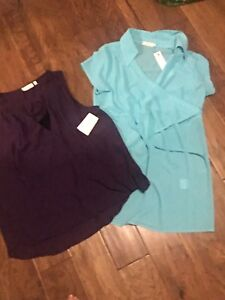 Maternity/nursing tops XL