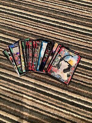 lego ninjago trading cards series 3 X 25