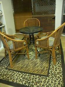 Dining table and 3 chairs - inside or outside Yorkeys Knob Cairns City Preview