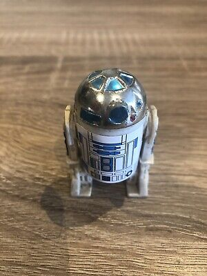 Vintage Star Wars R2-D2 R2D2 Solid Some Figure Droid Kenner 1977 Hong Kong Rare