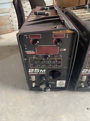 Lincoln 25m Advanced Wire Feeder Welder Mig Power Wave Machine K2536-5