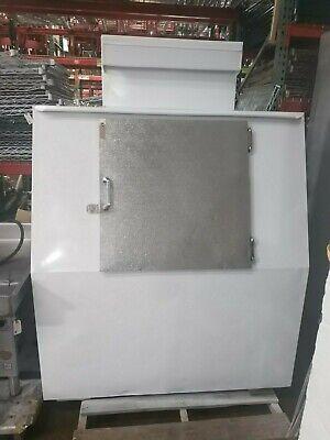 Ice Merchandiser Commercial Machine Outdoor Bag Vendor Bagged Lee Slant Freezer