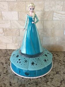 Elsa light that rotates and plays music