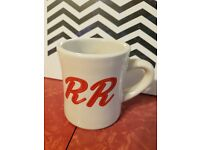 Rare Collectible Twin Peaks Double R Diner Cherry Ceramic Pie Plate Official NEW