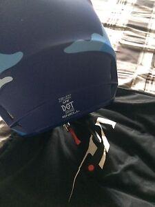 Blue camo Fox helmet  Peterborough Peterborough Area image 4