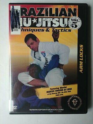 Brazilian Jiu-Jitsu Techniques and Tactics DVD - Arm Locks - Free Shipping