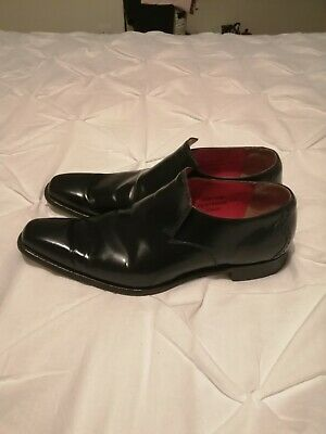 """Jeffery West, Black, """"Dashwood"""" Slip On Shoes. Size 9."""